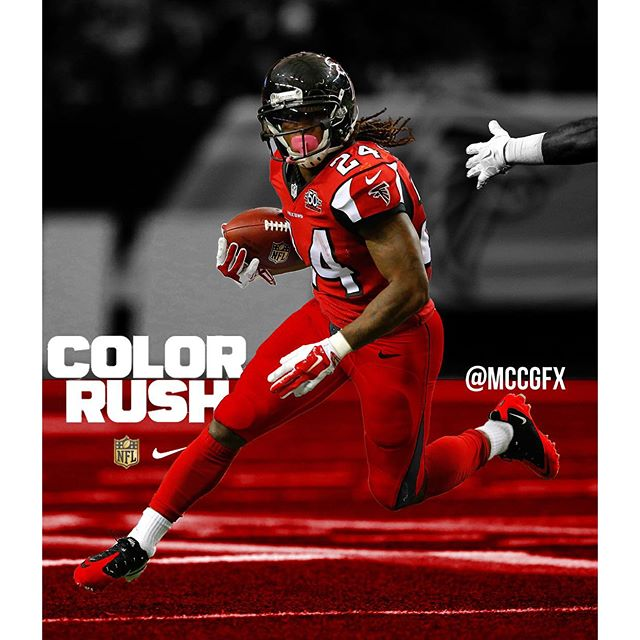 color rush jersey falcons
